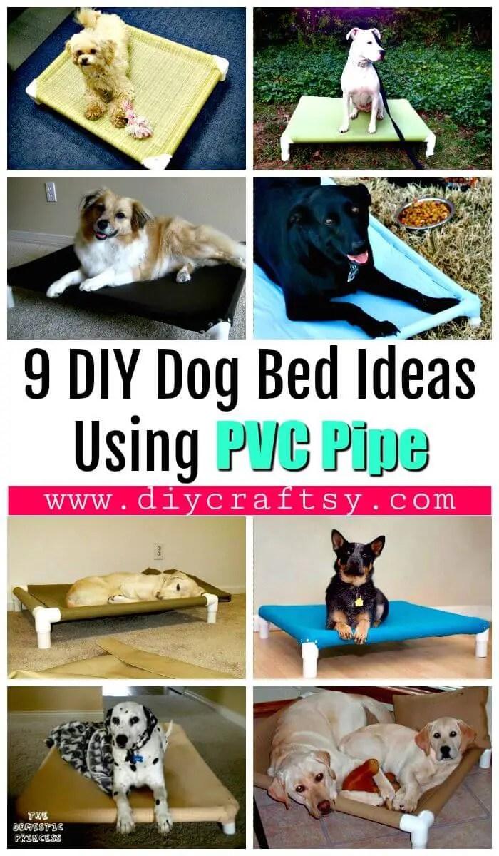 9 DIY Dog Bed Ideas Using PVC Pipe DIY Amp Crafts