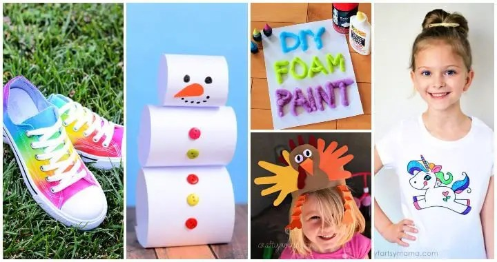 Have a bored teenager at home? 90 Easy Crafts For Kids Fun Art And Craft Ideas For Kids Diy Crafts