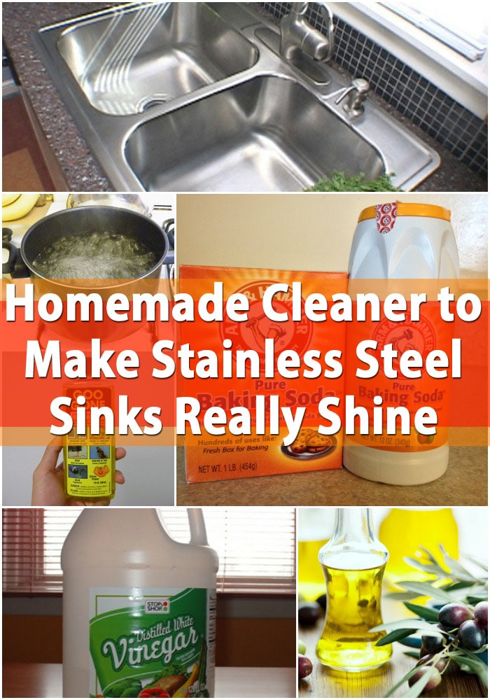 homemade cleaner to make stainless