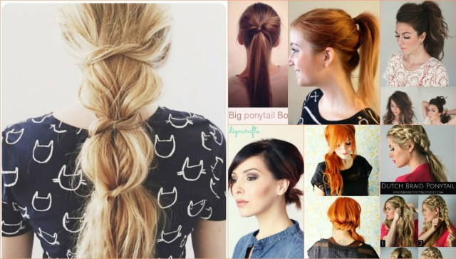 20 perfect ponytail tutorials – turning the ordinary into