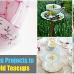 From Tea To Decor 25 Gorgeous Projects To Upcycle Old Teacups Diy Crafts