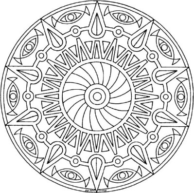 relaxing coloring pages # 18