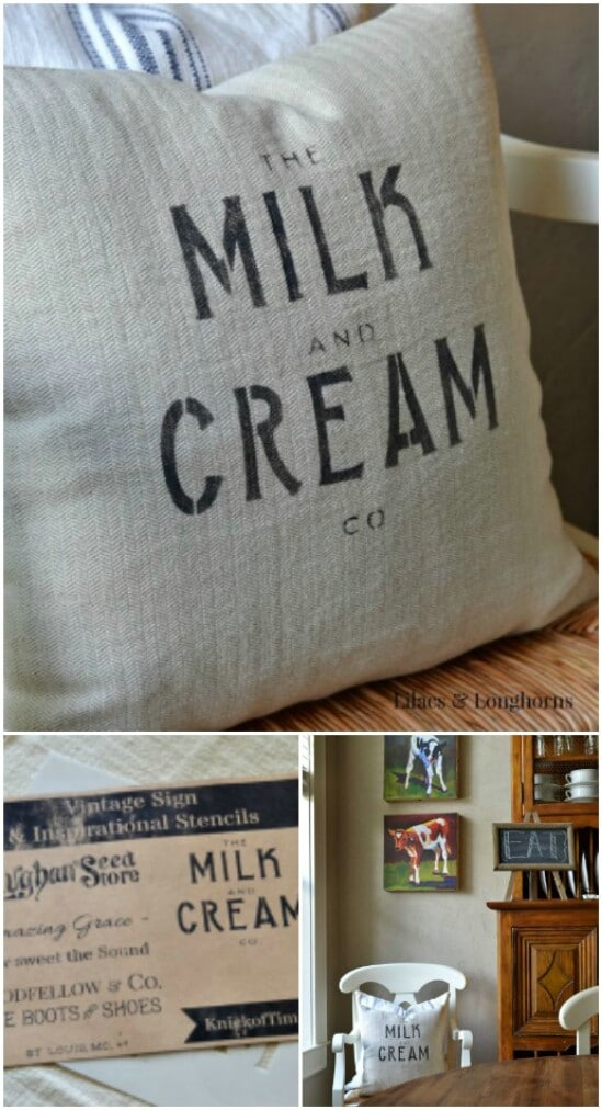 20 pillow art diyncraftscom farmhouse furniture collection