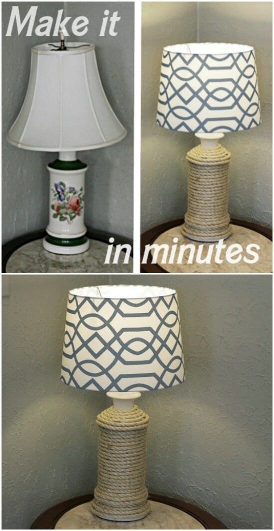 34 nautical lamp diyncraftscom farmhouse furniture collection