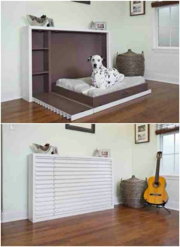 20 Easy Diy Dog Beds And Crates That Let You Pamper Your