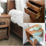 30 Amazingly Creative And Easy Diy Nightstand Projects Diy Crafts
