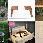 15 Brilliantly Creative Ways To Upcycle An Old Bed Frame Diy Crafts