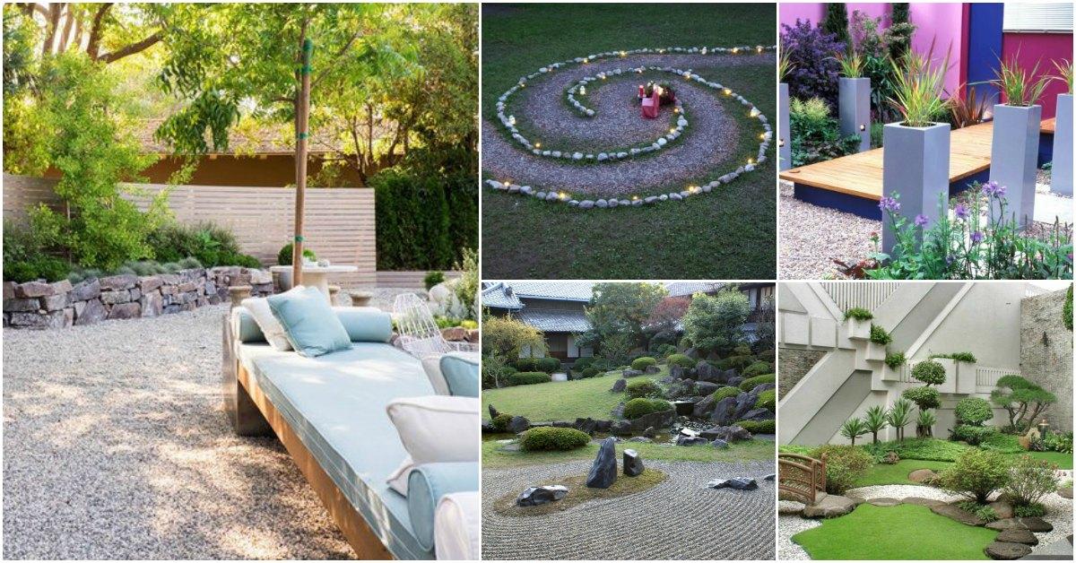 10 Relaxing DIY Zen Gardens Features That Add Beauty To ... on Zen Garden Backyard Ideas id=72693