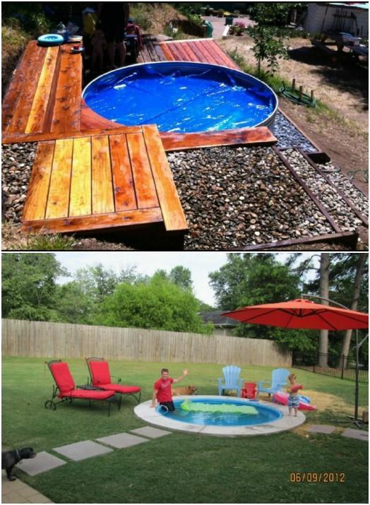 15 Gorgeous DIY Small Backyard Decorating Ideas - DIY & Crafts on Diy Small Patio Ideas id=22237