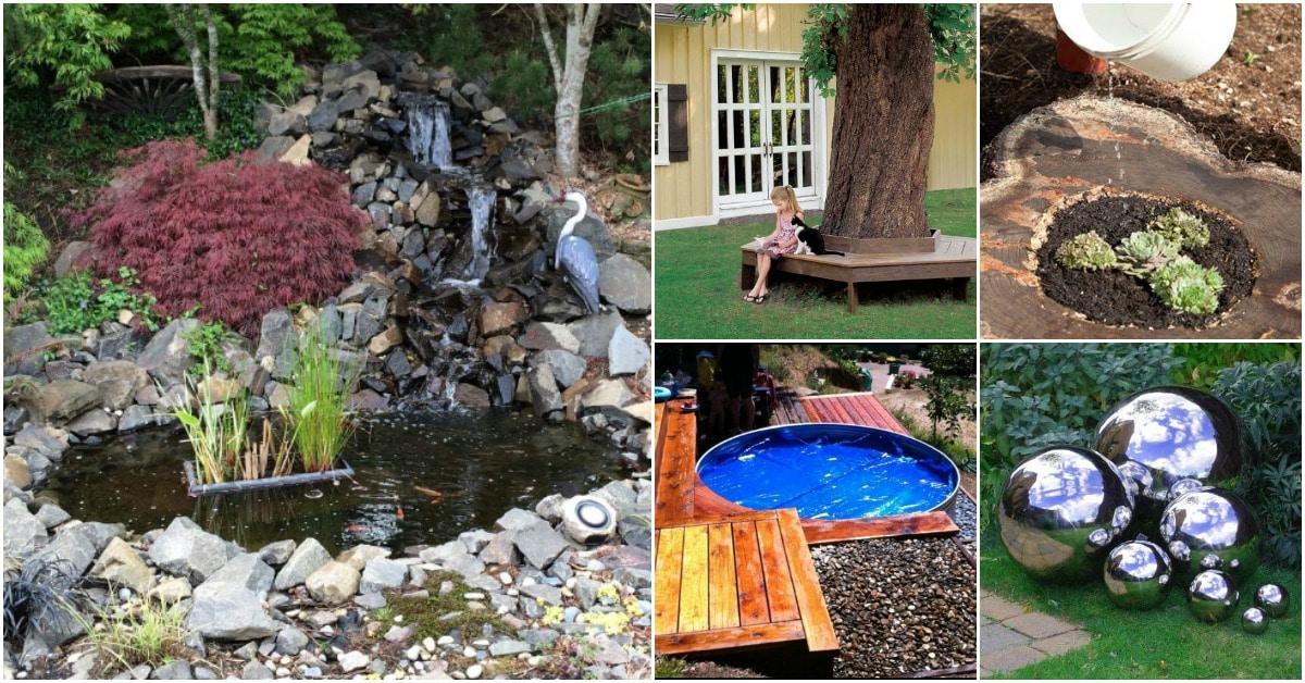 15 Gorgeous DIY Small Backyard Decorating Ideas - DIY & Crafts on Backyard Design Ideas Diy id=11255