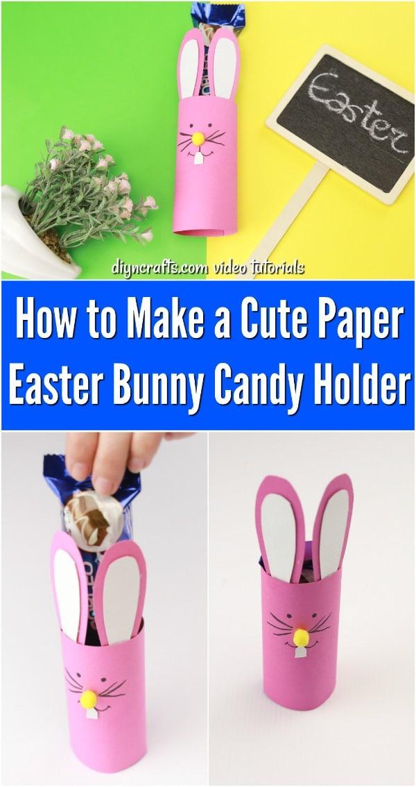 Bunny Candy Holder Decoration