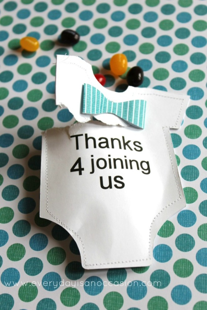 Do It Yourself Baby Shower Favors Ideas Cute