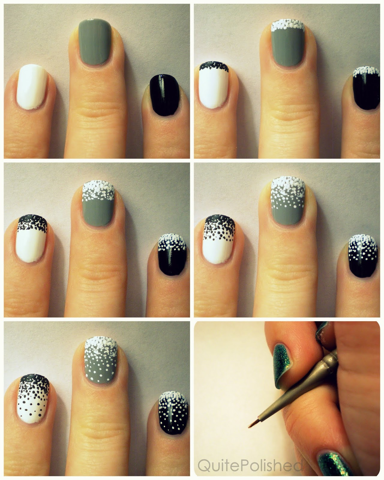 Snow Nail Art This Topped Look Is So Much Fun To Recreate But It S Also Easy Which What We Re All Looking For Quite Polished Has An Way