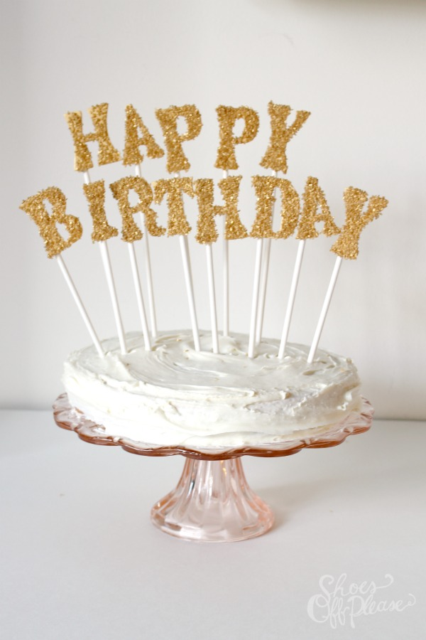 25 DIY Cake Toppers For A Variety Of Special Occasions