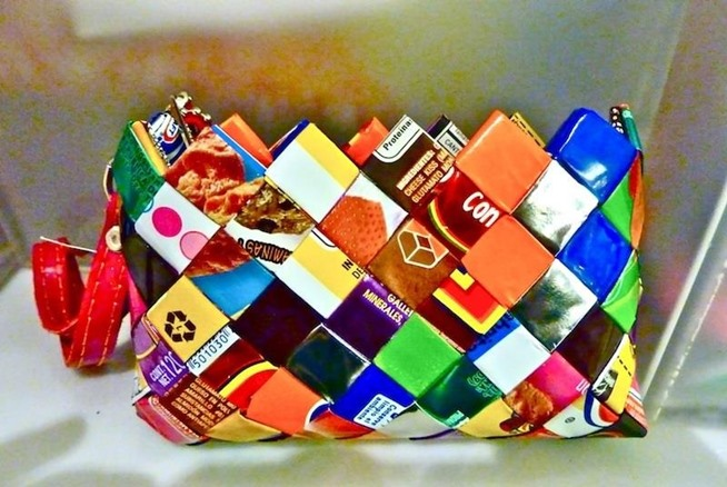 Crazy DIY Projects Made From Candy Wrappers