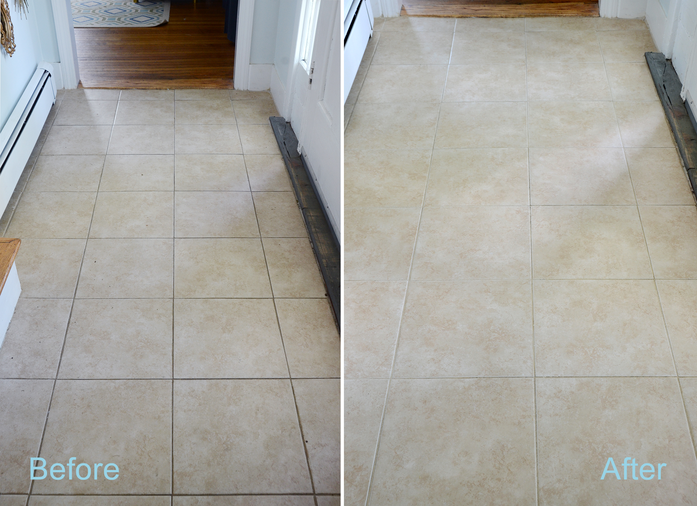 how to make homemade diy grout cleaner