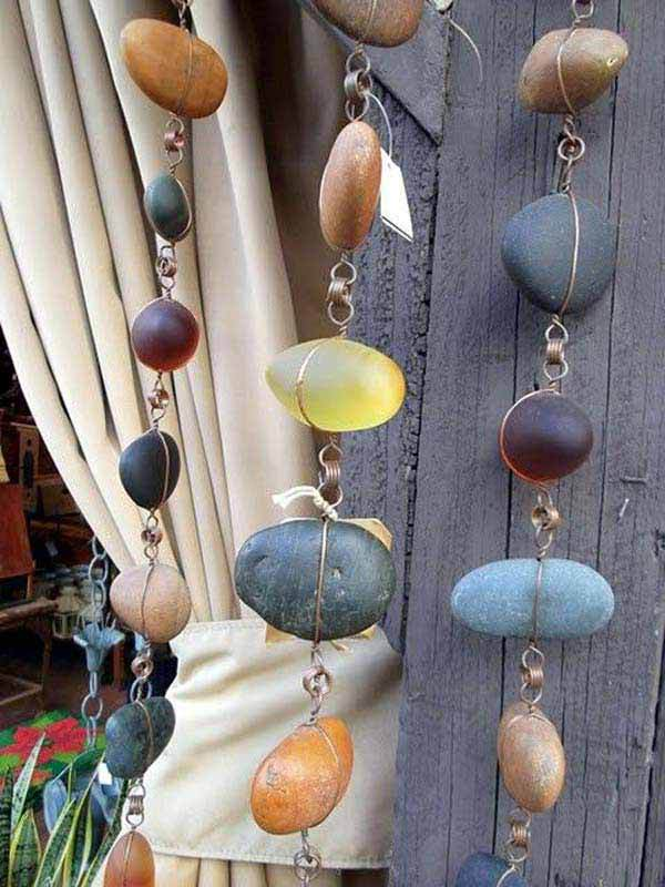 cool crafts made from rocks pebbles