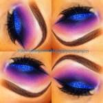 Deep Purple Eyeshadow Tutorial