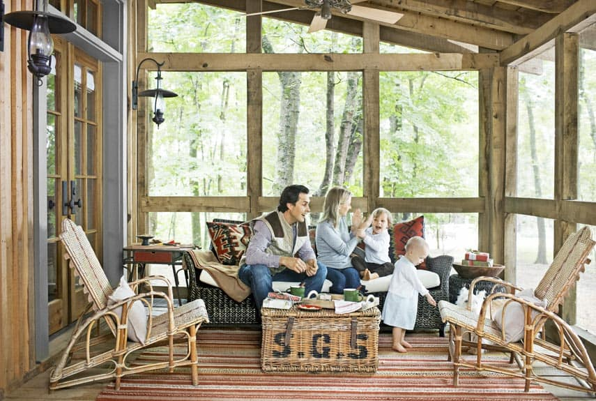 15 Screened In Porch Ideas That Will Inspire Your DIY Skills on Enclosed Back Deck Ideas id=38470