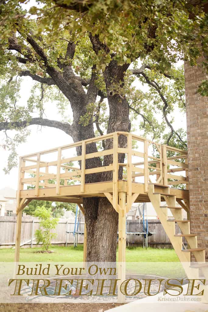 How To Build A Treehouse For Your Backyard