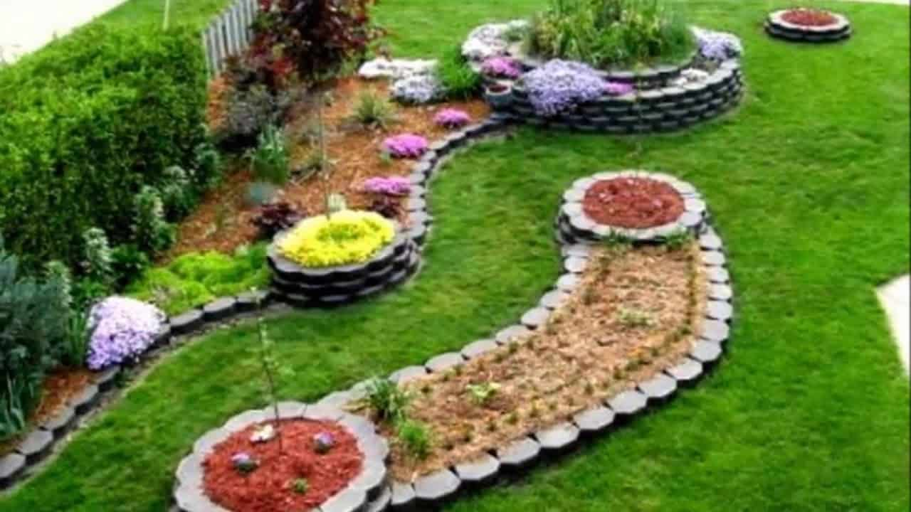 DIY Modern Landscaping Ideas on Downward Sloping Garden Ideas id=50774