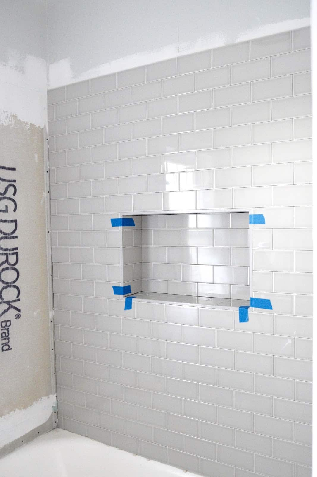 how to make a subway tile shower