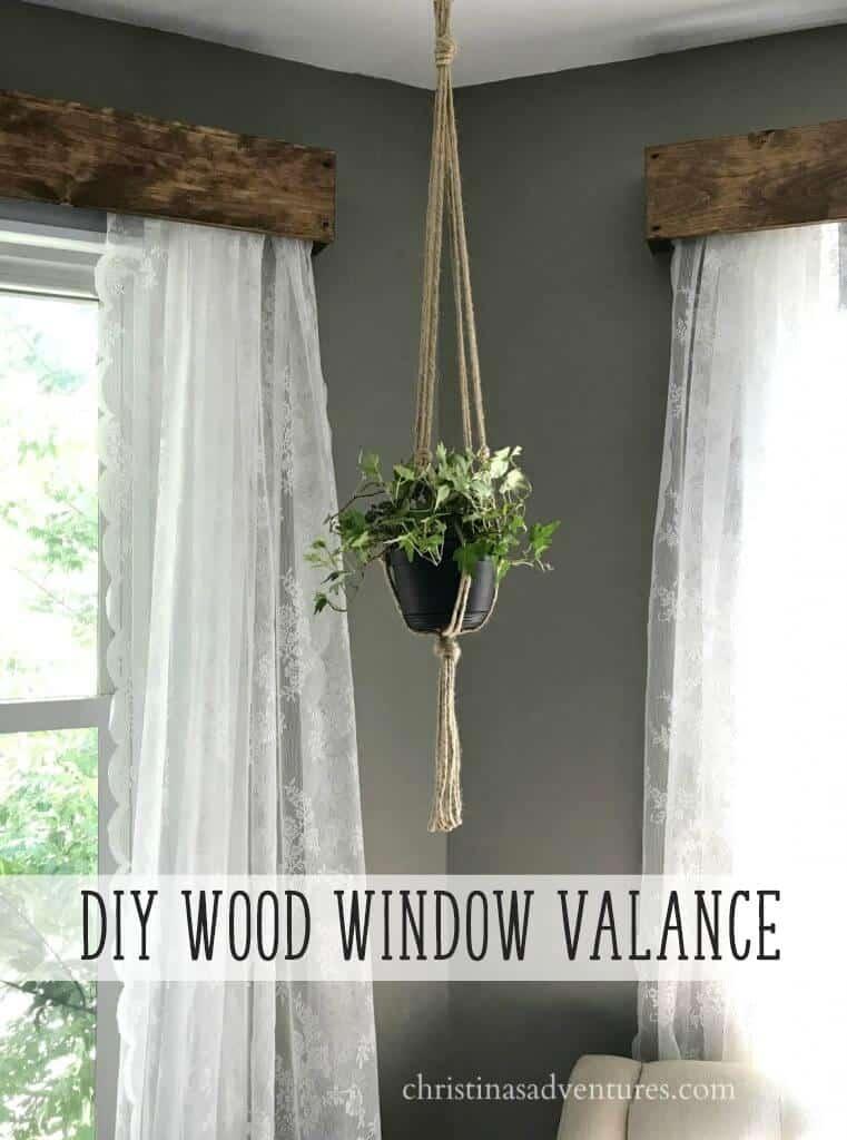 diy farmhouse window treatments