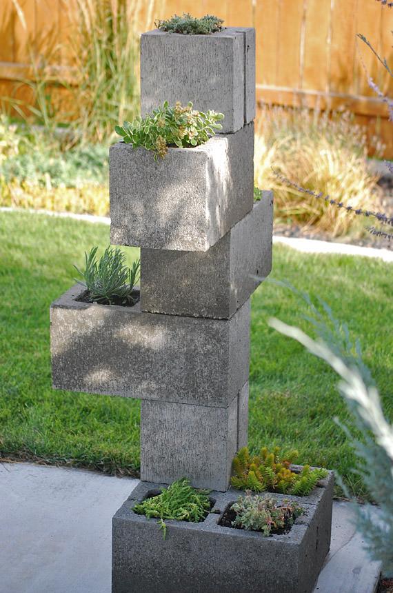 Tin Wall Planter