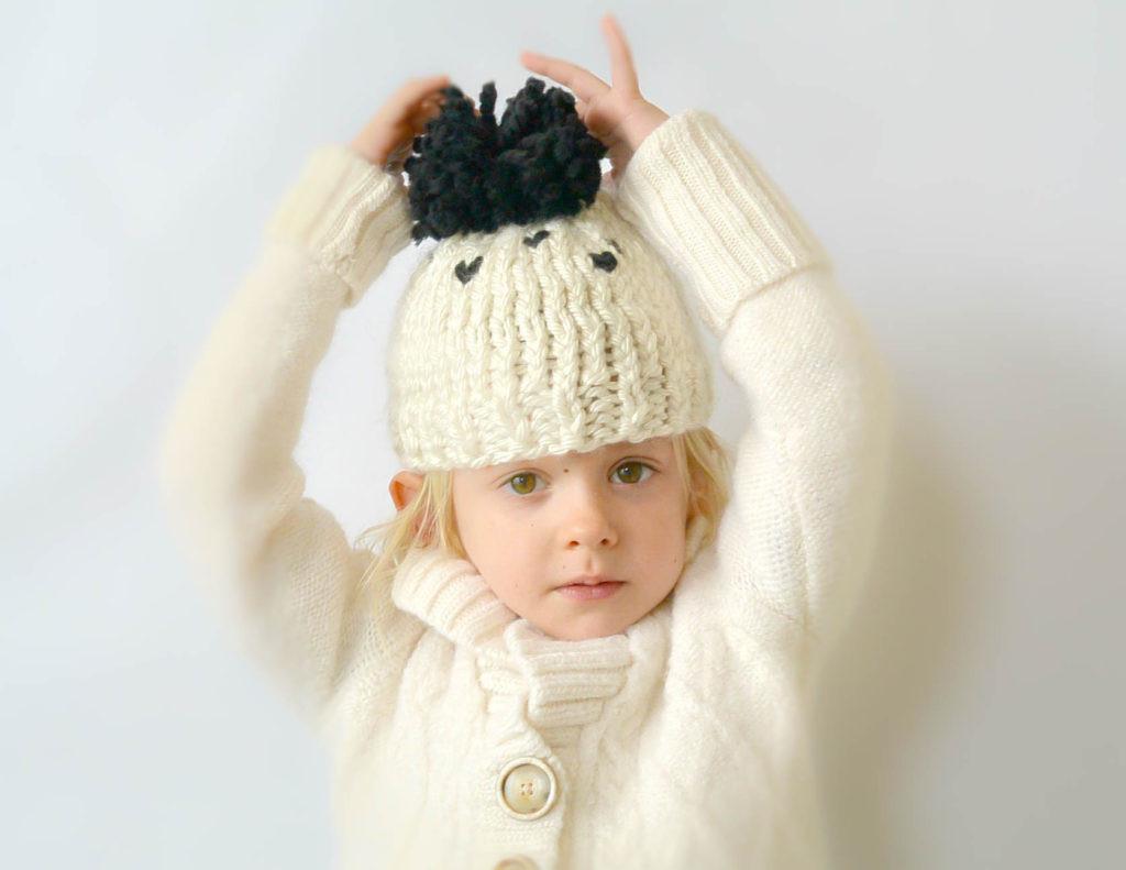 Flat Top Knit Hat Pattern