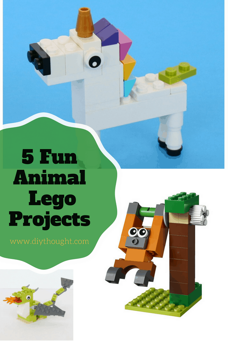 5 Fun Beginner Lego Animal Projects   diy Thought Finally  we have found this great video on how to build a Lego crocodile   Visit Tolemigoca over on YouTube to watch more amazing Lego videos