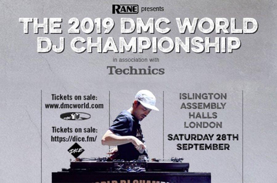 DMC World Technics sponsor Rane 2019 turntablism battle scratching