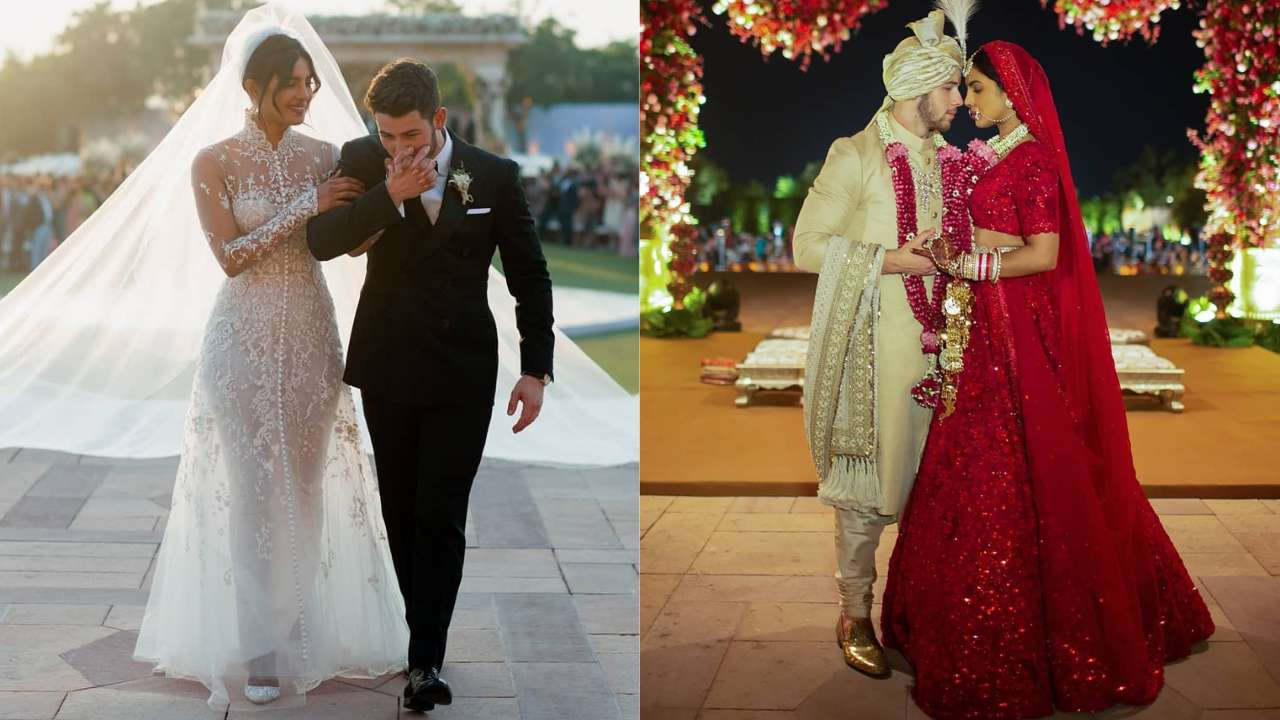 I Love That Our Wedding Was A Religious Mash Up Priyanka Chopra On Her Christian And Hindu Wedding With Nick Jonas