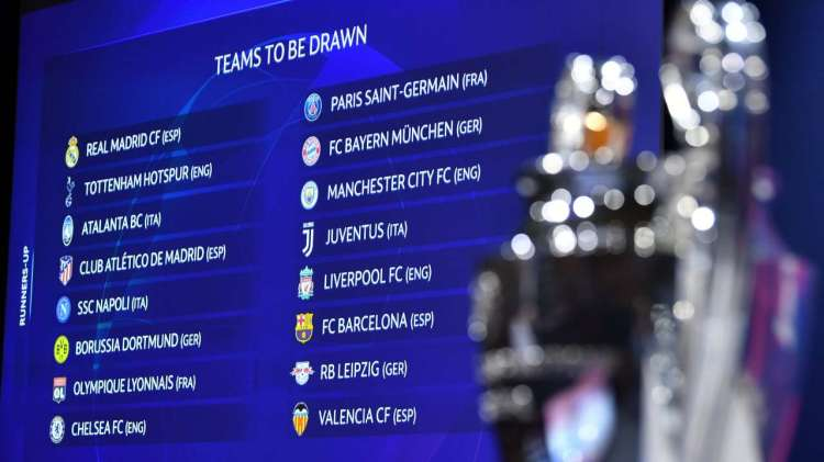 Champions League: When and where to watch Round of 16 draw ...