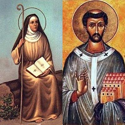 Resultado de imagem para santo agostinho e santa monica