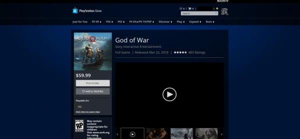 God of War'ın muhtemel çıkış tarihi görünmüş olabilir