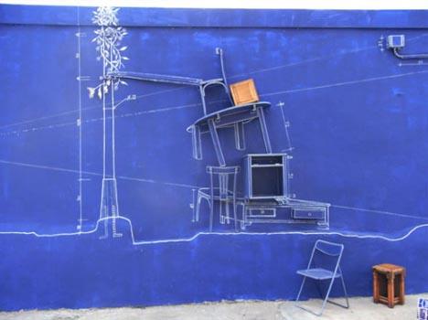 blueprint 3d art design