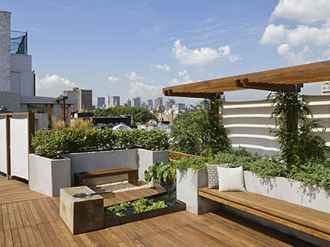 nyc rooftop deck design
