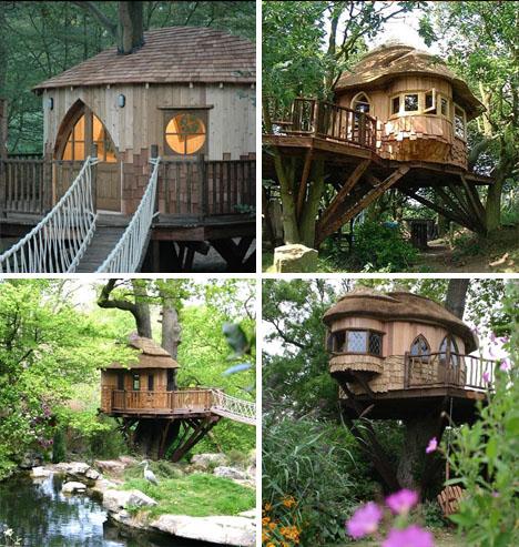 tree clube houses