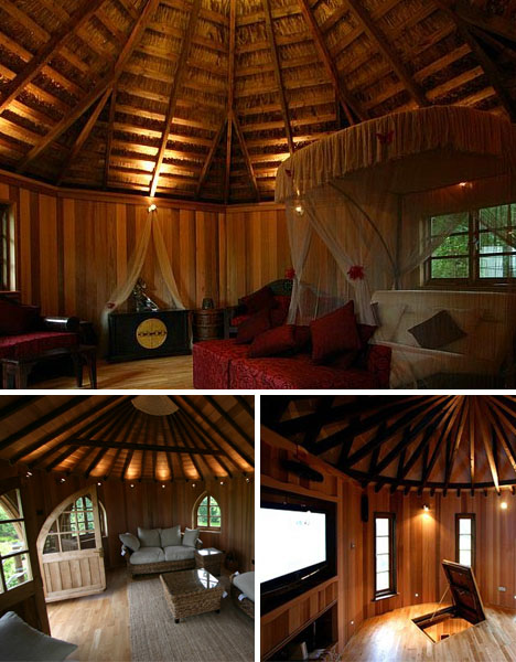 tree house interiors