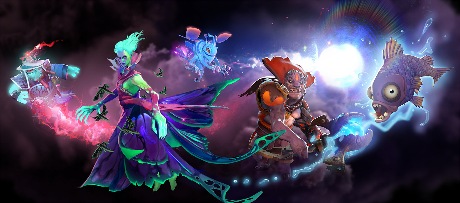 The Immortals Are Here Dota 2