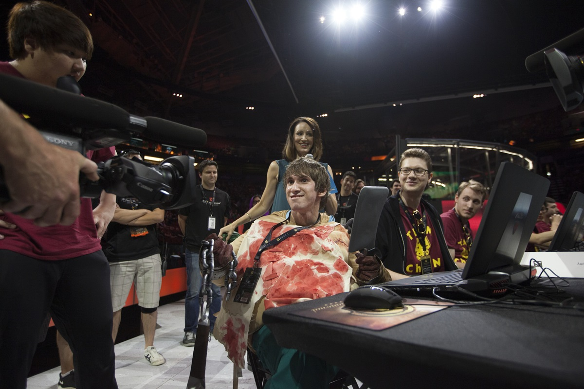 TI5 All Star Match BigDaddy ChuaN Captains Dendi Makes