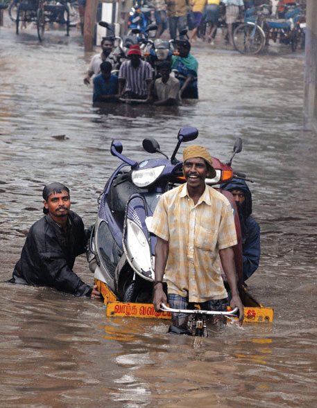 Flood in Chennai the same year affected more than 500,000 people (Photo: Reuters)