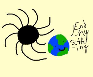 The Earth Dabbing - Drawception