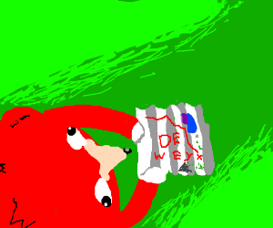 ugandan maps  now u know da whey   Drawception Knuckles finding the way on a map