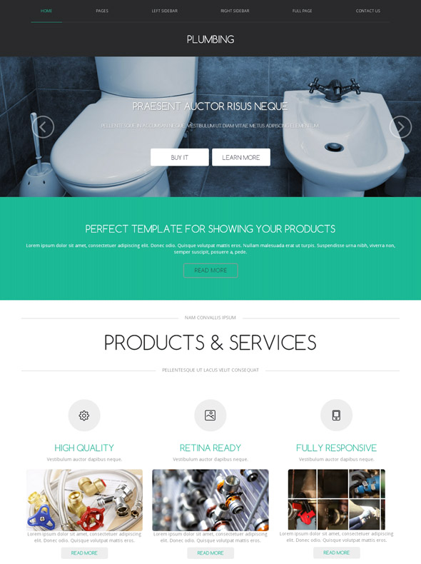 Home smart home hubs cleaning your toilet is likely a top priority when it comes to house maintena. Water Plumbing Web Template Plumbing Website Templates Dreamtemplate
