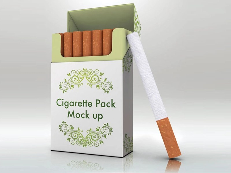 Download Cigarettes Pack Mockup by Artsigns on Dribbble