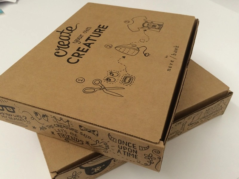 Example of prototyping packaging
