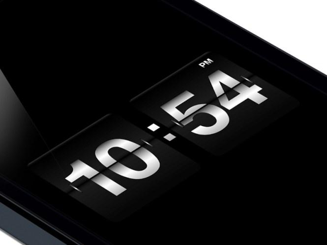 Flip Clock By Joshua Rq Jones On Dribbble