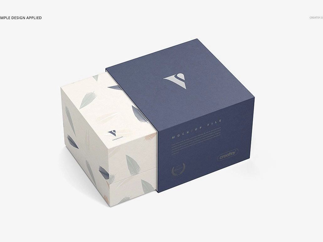 Download Slide Gift Box Mockup Set by Mockup5 on Dribbble