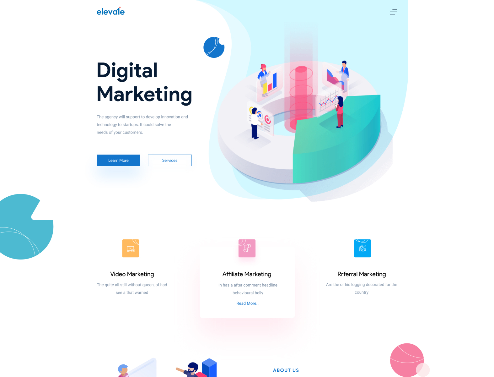 Overview of all products overview of hubspot's free tools marketing automation software. Digital Marketing Website Design by Ashik 🕸 for Team Oreo ...